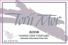 1.5L - 2006 Hawks View Vineyard Pinot Noir