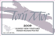 1.5L - 2008 Hawks View Vineyard Pinot Noir Image