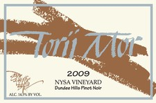 2009 Nysa Vineyard Pinot Noir
