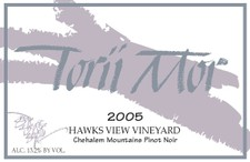 3L - 2005 Hawks View Vineyard Pinot Noir