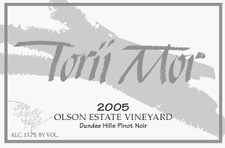 2005 Olson Vineyard Pinot Noir