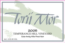 1.5L - 2005 Temperance Hill Vineyard Pinot Noir Image