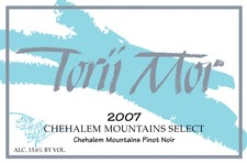 2007 Chehalem Mountains Select Pinot Noir