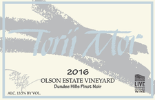 2016 Olson Estate Vineyard Pinot Noir Image